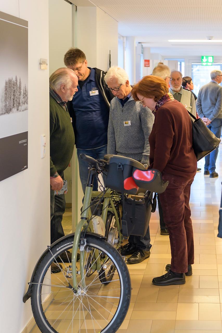 Die Firma König Fotobags präsentierte ihre hochwertigen Fototaschen vom Rucksack bis zur Fahrradtasche.