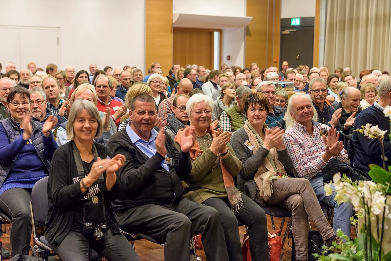 250 Teilnehmerinnen und Teilnehmer nahmen an den 6. Stapelfelder Fototagen teil.