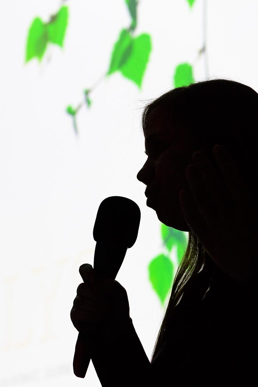Mit einem Werkstattbericht verschaffter Sandra Bartocha den Zuschauern einen Blick in die Konzeption des LYS-Projektes.
