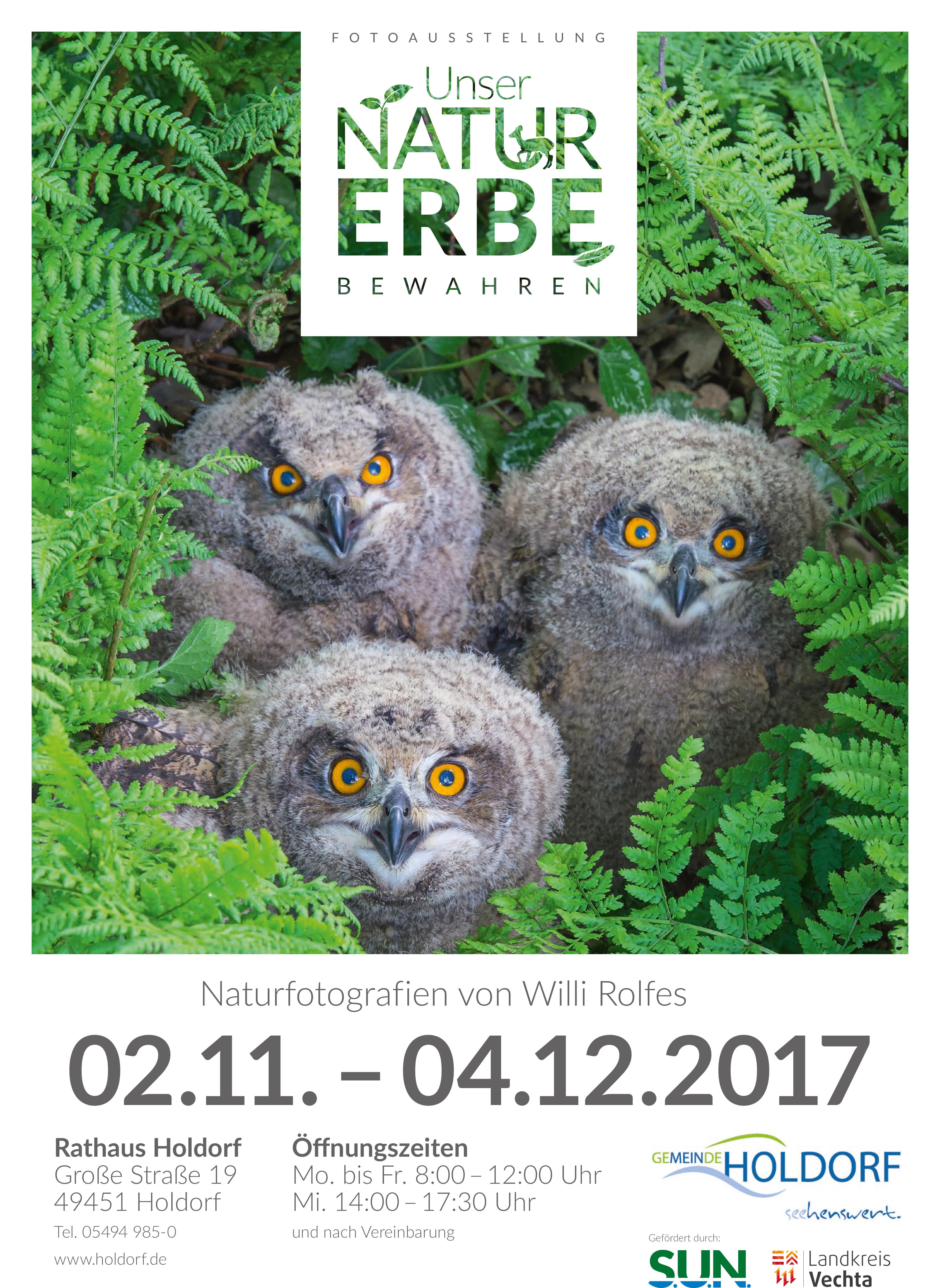 Fotoausstellung im Holdorfer Rathaus