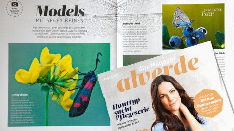 """Interview im Magazin """"alverde"""""""