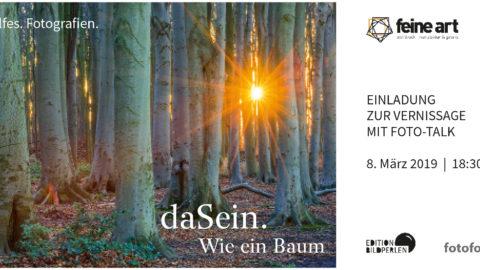 Fotoausstellung in der Galerie feine art in Münster